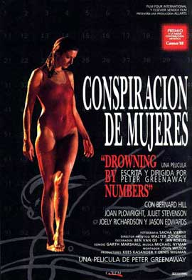 Drowning by Numbers - 11 x 17 Movie Poster - Spanish Style A