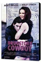 Drugstore Cowboy - 11 x 17 Movie Poster - Style A - Museum Wrapped Canvas