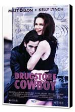 Drugstore Cowboy - 27 x 40 Movie Poster - Style A - Museum Wrapped Canvas