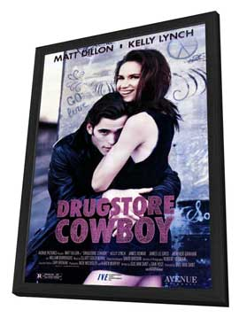 Drugstore Cowboy - 11 x 17 Movie Poster - Style A - in Deluxe Wood Frame