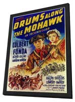 Drums Along the Mohawk - 11 x 17 Movie Poster - Style A - in Deluxe Wood Frame
