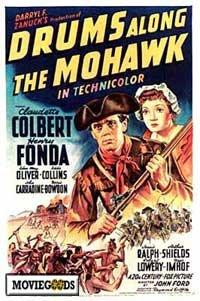 Drums Along the Mohawk - 43 x 62 Movie Poster - Bus Shelter Style A