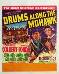 Drums Along the Mohawk - 27 x 40 Movie Poster - Style B