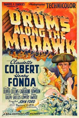 Drums Along the Mohawk - 11 x 17 Movie Poster - Style D
