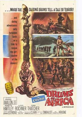 Drums of Africa - 11 x 17 Movie Poster - Style A