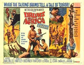 Drums of Africa - 11 x 14 Movie Poster - Style A