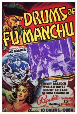 Drums of Fu Manchu - 27 x 40 Movie Poster - Style A