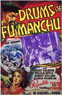 Drums of Fu Manchu - 43 x 62 Movie Poster - Bus Shelter Style A