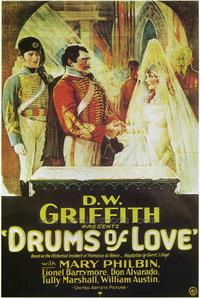 Drums of Love - 43 x 62 Movie Poster - Bus Shelter Style A