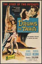 Drums of Tahiti - 11 x 17 Movie Poster - Style A