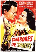 Drums of Tahiti - 11 x 17 Movie Poster - Spanish Style A