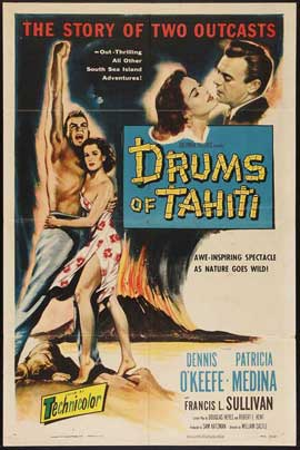 Drums of Tahiti - 27 x 40 Movie Poster - Style A