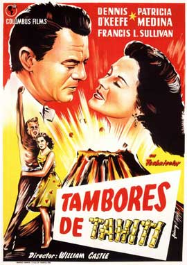 Drums of Tahiti - 27 x 40 Movie Poster - Spanish Style A