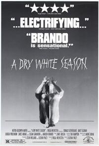 A Dry White Season - 11 x 17 Movie Poster - Style B