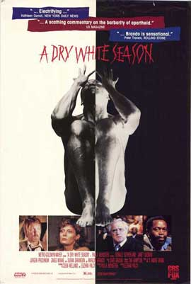 A Dry White Season - 27 x 40 Movie Poster - Style A