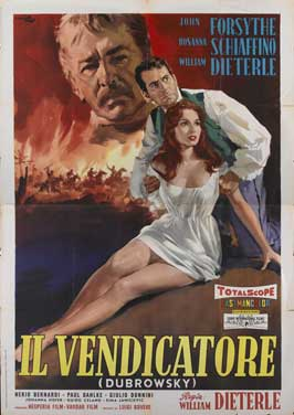 Dubrowsky - 11 x 17 Movie Poster - Italian Style A