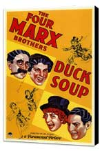 Duck Soup - 11 x 17 Movie Poster - Style A - Museum Wrapped Canvas