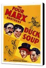 Duck Soup - 27 x 40 Movie Poster - Style A - Museum Wrapped Canvas