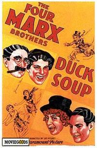 Duck Soup - 43 x 62 Movie Poster - Bus Shelter Style A