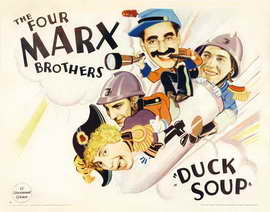 Duck Soup - 22 x 28 Movie Poster - Half Sheet Style B