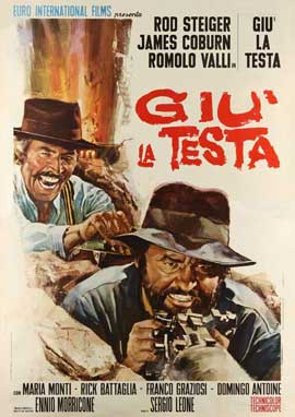 Duck, You Sucker - 27 x 40 Movie Poster - Italian Style A