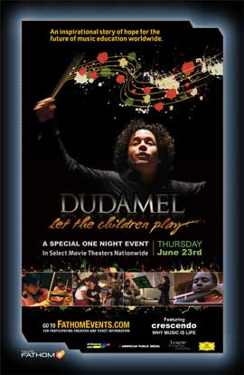 Dudamel: Let the Children Play - 43 x 62 Movie Poster - Bus Shelter Style A
