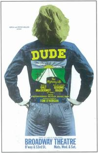 Dude (Broadway) - 11 x 17 Poster - Style A