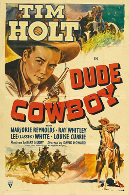 Dude Cowboy - 11 x 17 Movie Poster - Style A