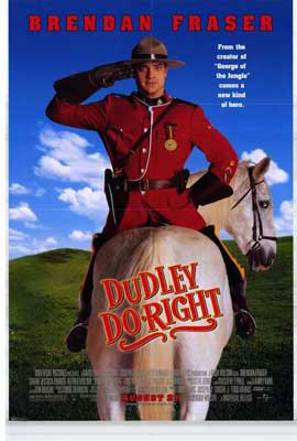 Dudley Do-Right - 27 x 40 Movie Poster - Style A