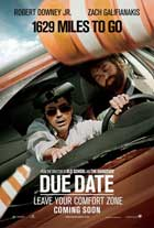 Due Date - 11 x 17 Movie Poster - UK Style C