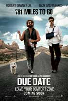 Due Date - 11 x 17 Movie Poster - UK Style D