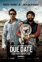 Due Date - 11 x 17 Movie Poster - Style B - Double Sided