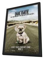 Due Date - 11 x 17 Movie Poster - Style B - in Deluxe Wood Frame