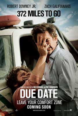 Due Date - 11 x 17 Movie Poster - UK Style A