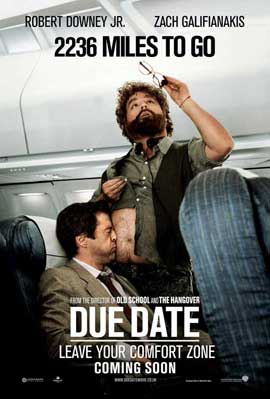 Due Date - 11 x 17 Movie Poster - UK Style B