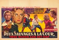 Due selvaggi a corte - 11 x 17 Movie Poster - Belgian Style A