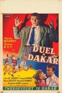 Duel � Dakar - 27 x 40 Movie Poster - Belgian Style A
