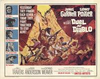 Duel at Diablo - 22 x 28 Movie Poster - Half Sheet Style A