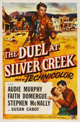 Duel at Silver Creek - 27 x 40 Movie Poster - Style A