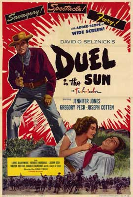 Duel in the Sun - 11 x 17 Movie Poster - Style C