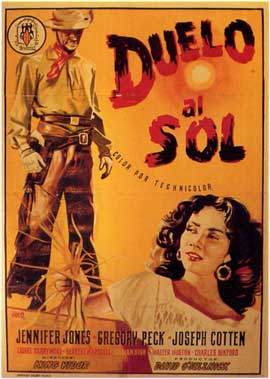 Duel in the Sun - 11 x 17 Movie Poster - Spanish Style A