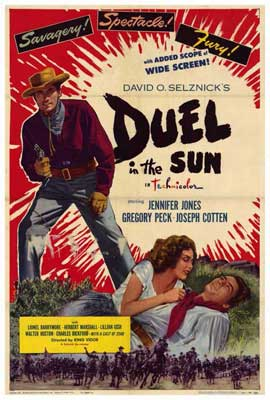 Duel in the Sun - 27 x 40 Movie Poster - Style C