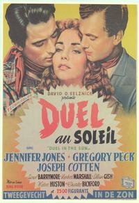 Duel in the Sun - 11 x 17 Movie Poster - Belgian Style A
