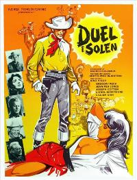 Duel in the Sun - 27 x 40 Movie Poster - Danish Style A