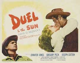 Duel in the Sun - 22 x 28 Movie Poster - Half Sheet Style A