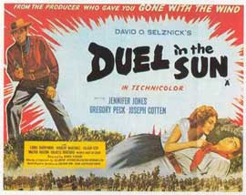 Duel in the Sun - 11 x 17 Movie Poster - Style B