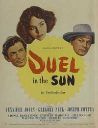 Duel in the Sun - 11 x 17 Movie Poster - Style D