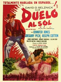 Duel in the Sun - 11 x 17 Movie Poster - Spanish Style B