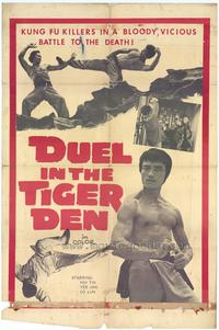 Duel in the Tiger Den - 27 x 40 Movie Poster - Style A