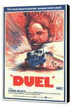 Duel - 27 x 40 Movie Poster - Style A - Museum Wrapped Canvas